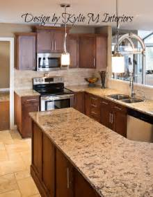 Kitchen Countertops And Cabinet Combinations Benjamin Moore Lenox Tan Kitchen Remodel Before And After