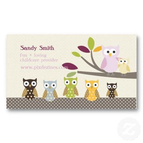 Free Childcare Business Card Templates by 17 Best Images About Child Care Business Cards On