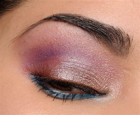 Eyeshadow Nonna denona purple blue eyeshadow palette 28 review