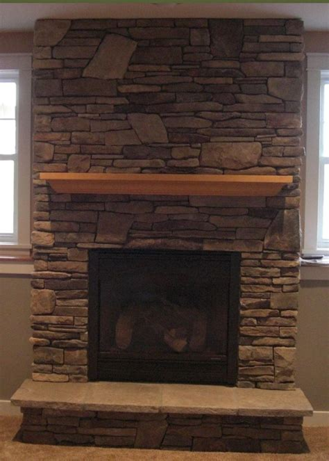 fireplace with stone gas fireplace with cultured stone house decor