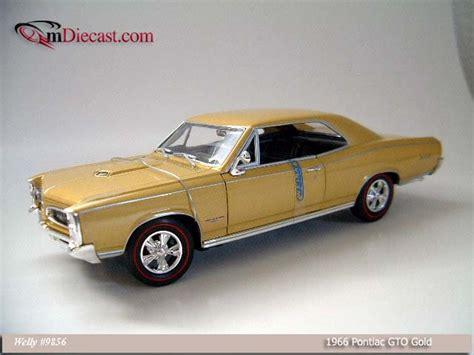 Welly Pontiac 65 Gto Diecast welly 1966 pontiac gto gold 9856 in 1 18 scale mdiecast