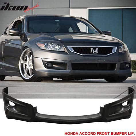 2008 honda accord front bumper 08 10 honda accord 2dr hfp style front bumper lip urethane
