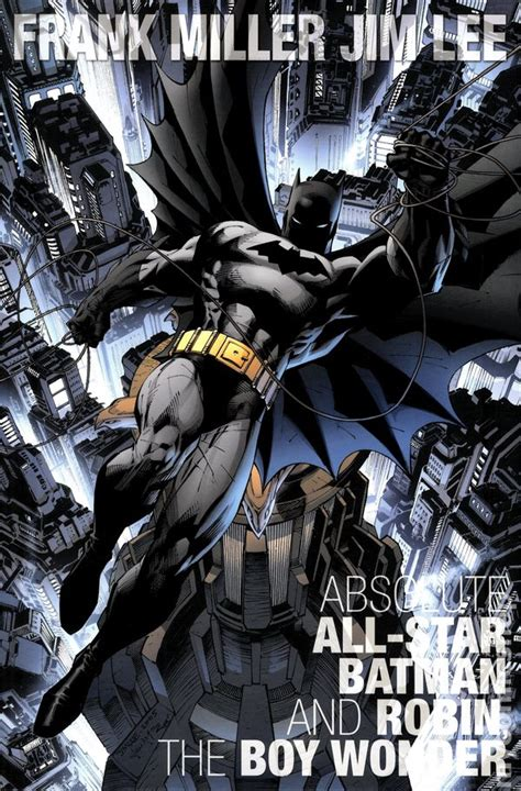 libro all star batman hc absolute all star batman and robin the boy wonder hc 2014 dc comic books