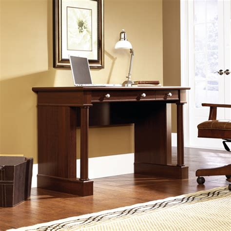 sauder palladia writing desk cherry walmart