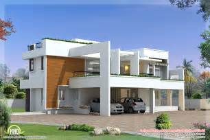 modern villa house plans 4 bedroom luxury contemporary villa design kerala home