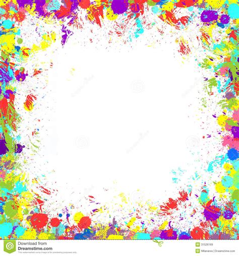colorful paint splatter border поиск в google patterns pinterest paint splatter