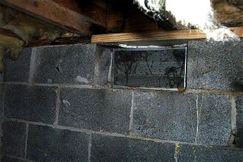 basement sill plate mold causing structural damage in crawl space and basement