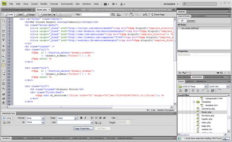 layout html dreamweaver shiningmanoj 10 good and 10 bad things about adobe s