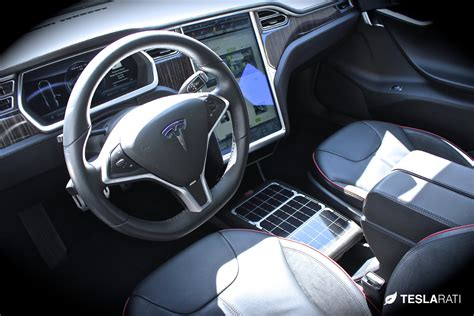 Car Patio Integrating Portable Solar Panel Technology Into The Tesla