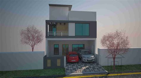 home design 4 marla 5 marla basement home plan gharplans pk