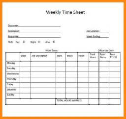 pricing sheet template 7 weekly timesheet template excel nurse resumed
