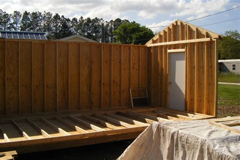 12×24 Shed Plans Materials List