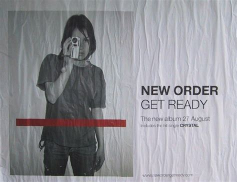 Get Ready To Forward by New Order Get Ready Poster Musix