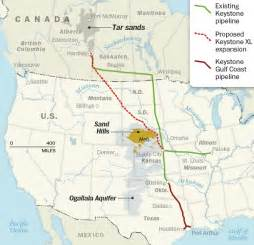 keystone pipeline map state department releases keystone xl environmental