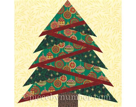 Tree Quilt Block by Pine Tree Paper Pieced Quilt Block Trees Quilt And Paper