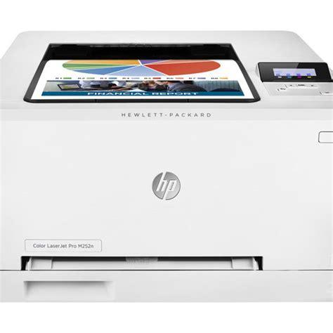 Hp Laserjet M252n hp color laserjet pro m252n printer colour laser b b computer