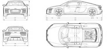 free blueprint audi r8 2016 blueprint download free blueprint for 3d