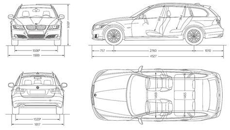 Abmessungen Bmw 1er 2009 by Bmw 320d Touring 2010 Autokatalog Ma 223 E Und Gewichte