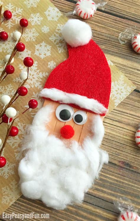 santa craft for santa crafts and treats the idea room
