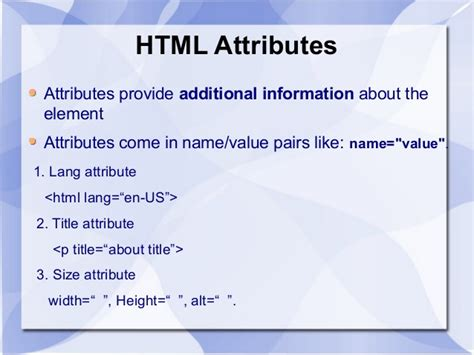 format html title attribute html hyper text markup language by mukesh