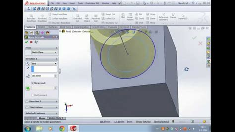 Solidworks Tutorial On Youtube | solidworks tutorial beginner absolute beginner 1 step by
