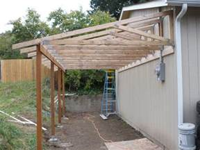 carport lean to plans