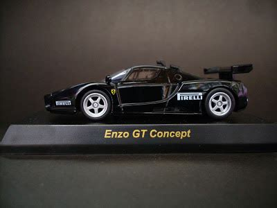 Enzo Gt Small Cars For Big Boys Kyosho 1 64 Enzo Gt Concept