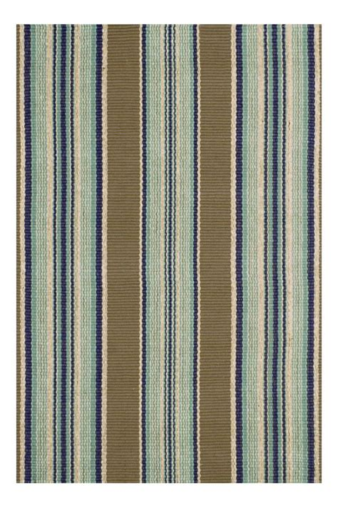 Stripe Indoor Outdoor Rug Blue Heron Stripe Indoor Outdoor Rug Cottage Home 174