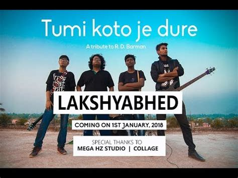 tumi koto je dure cover official  video