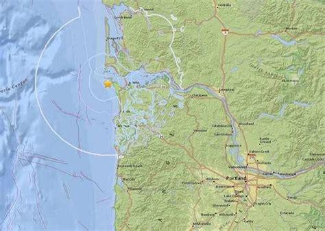 earthquake oregon 3 8 magnitude earthquake hits off oregon coast earth