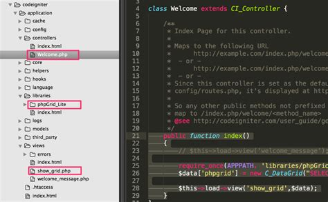 simple codeigniter exle create excel file codeigniter how to export mysql data