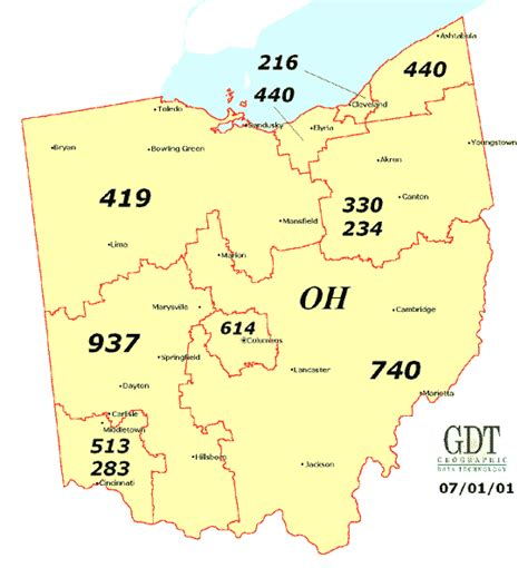 what us area code is 440 ohio moving companies