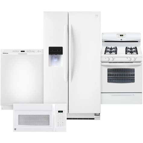 Kitchen Appliance Combos | kenmore 4 pc kitchen combo kitchen appliance sets