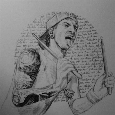 doodle name joshua the 25 best josh dun drawing ideas on