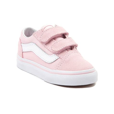 light pink baby shoes toddler vans skool v skate shoe pink 99498177
