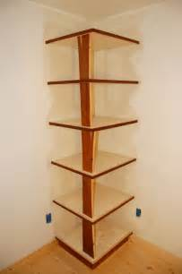 Building Wood Shelving Units by Corner Shelves Daniel Wetmore