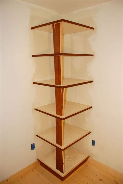 Corner Storage Shelf by Corner Shelf Daniel Wetmore