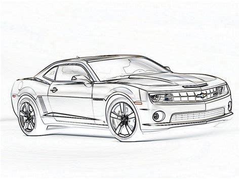 2010 Camaro Coloring Pages Coloring Home Camaro Coloring Pages