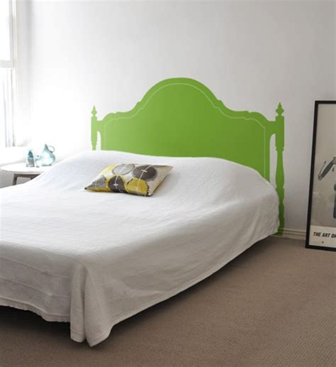 fake headboard decal blik headboard wall decal hello adorable