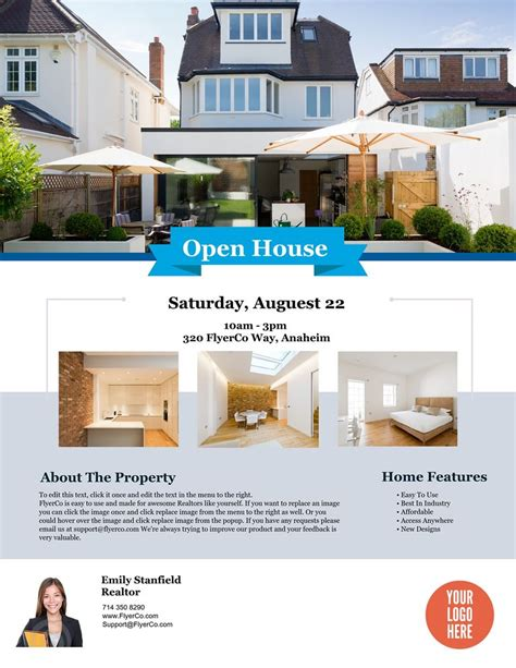 open house flyer template microsoft word templates