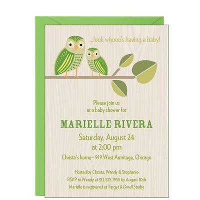 Paper Source Baby Shower Invitations 29 best images about owl baby shower invitations on