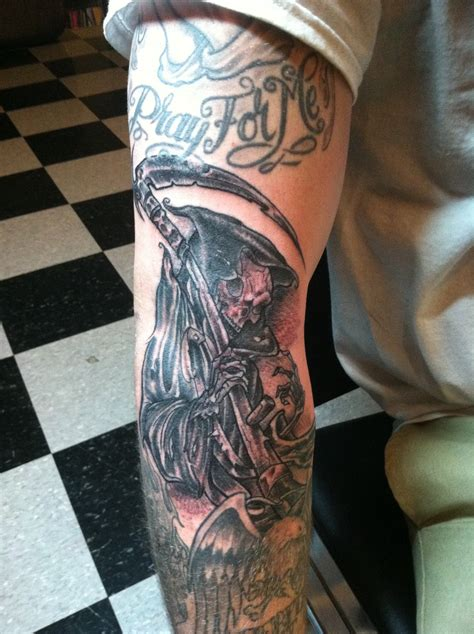 reaper tattoos grim reaper images designs