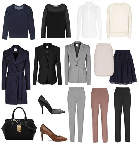 Capsule Office Wardrobe by Office Monday Reiss Work Wear Capsule Wardrobe