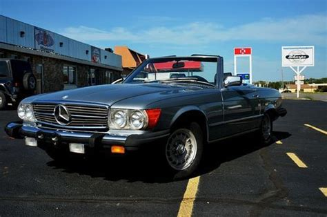 how cars work for dummies 1984 mercedes benz s class on board diagnostic system find used 1984 mercedes 380 sl roadster in bartlesville oklahoma united states