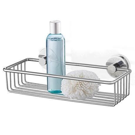metal bathroom basket zack scala 31cm modern stainless steel shower basket