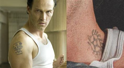 viggo mortensen tattoos what story tell stephen moyer s russian prison tattoos