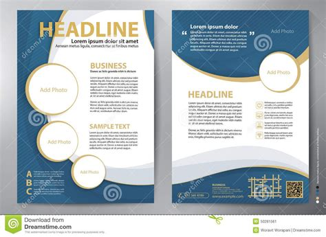 Size Brochure Template by Brochure Design Templates A4 Theveliger