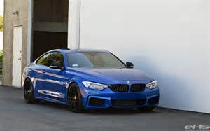 Estoril Blue Bmw Lowered Estoril Blue Bmw 435i Is Just Right Autoevolution
