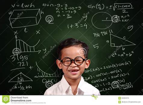 asian student boy math genius stock photo image