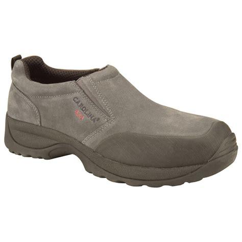 s carolina 174 4x4 esd steel toe slip on shoes grey